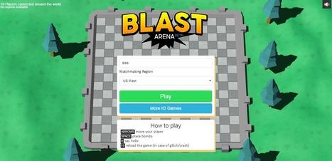 Blastarena Io Io Games Hacked Unblocked Io