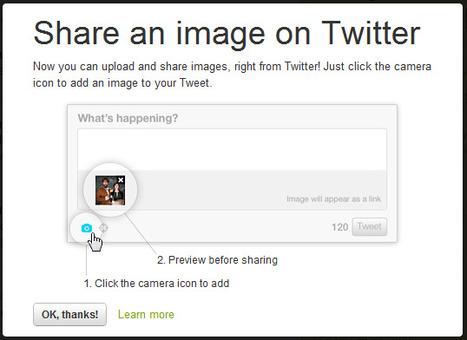 Nouvelle fonctionnalité Twitter : tweeter une image directement depuis Twitter.com | Animer une communauté Twitter | Scoop.it