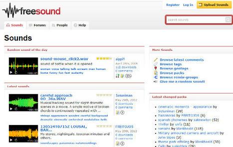Los mejores servicios para obtener efectos de sonido gratuitos | AnexoM. Blog oficial de Jazztel | Edición de audio | Scoop.it