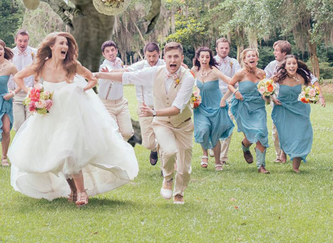 The Best Wedding Photo Ever.   Beautiful places.   Scoop.it