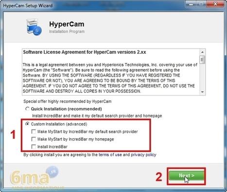logiciel hypercam 2