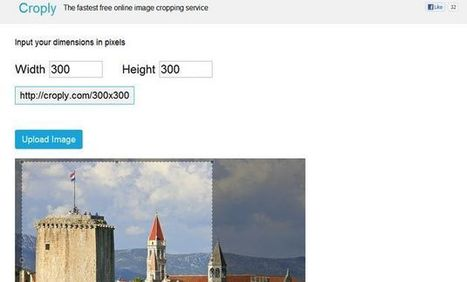 Croply, recorta cualquier imagen con esta herramienta web gratuita y sin registro | Al calor del Caribe | Scoop.it