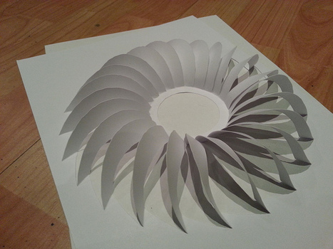 Rotation Twist Kirigami-ish | Made with (and of) Paper | Scoop.it