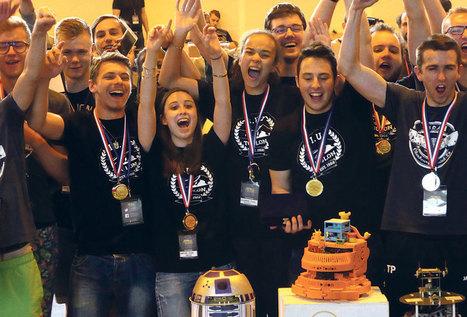 Toulon, Triplé robotique pour les étudiants gardéens - t83.fr | On parle des IUT | Scoop.it