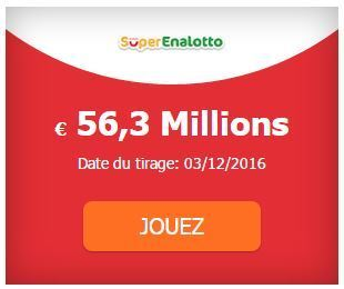 56 300 000 € au #SuperEnalotto #SuperStar Tirage Samedi 03-12 | Pariez avec ASTROQUINTE | Scoop.it