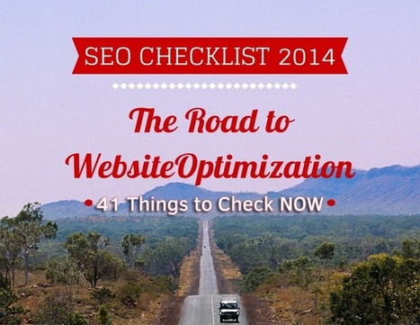 SEO Checklist 2014: 41 Things to Check NOW | Webrunner | A DIGITAL WORLD | Scoop.it