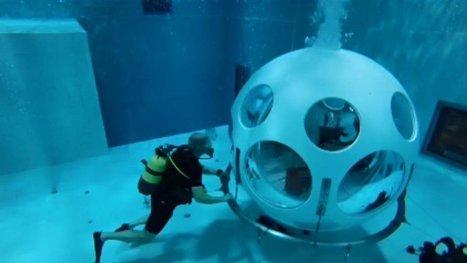 Bruxelles : voici le premier restaurant sous-marin du monde - | MILLESIMES 62 : blog de Sandrine et Stéphane SAVORGNAN | Scoop.it