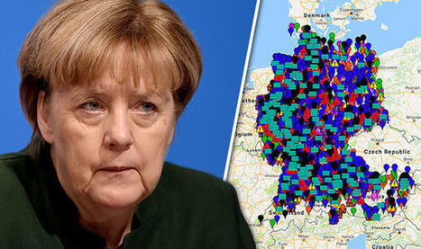 MERKEL'S SHAME: Map reveals shocking extent of migrant sex attacks on women and children | The Pulp Ark Gazette | Scoop.it