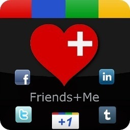 Share Google Plus Posts To Other Social Networks With Friends+Me | Hot off the press- Social Media | Scoop.it