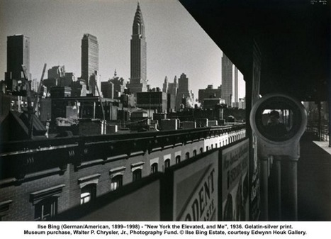 Ilse Bing - New York The Elevated and Me 1936 | VIM | Scoop.it