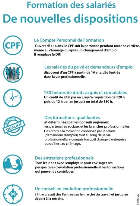 Formation des salariés. De nouvelles dispositions | PEDAGO-ANDRAGO-APPRENANCE | Scoop.it