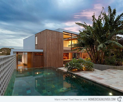 The Contemporary Flipped House in South Wales, Sydney Australia | What Surrounds You | Scoop.it