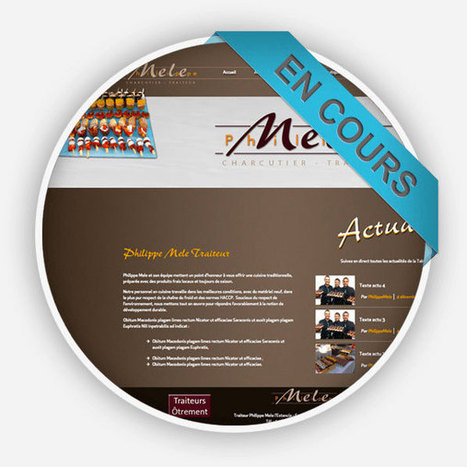 Création du site internet Philippe Mele - Agence Point Com Perpignan | Agence Point Com | Scoop.it