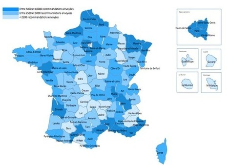 Hadopi : le million d'avertissements et une cartographie détaillée | Geomatic | Scoop.it