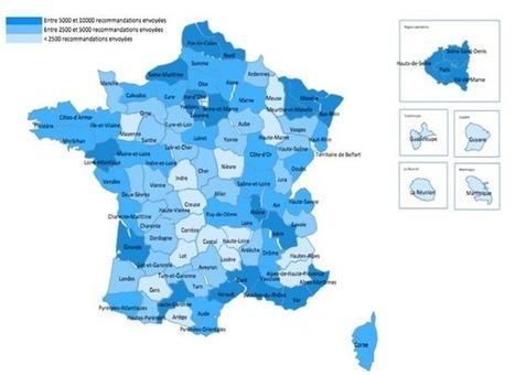 Hadopi : le million d'avertissements et une cartographie détaillée | Geomatic | Scoop.it