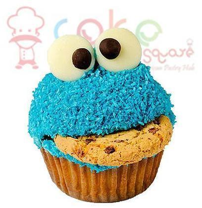 Blue Monster Cupcakes Cake Shop In Chennai