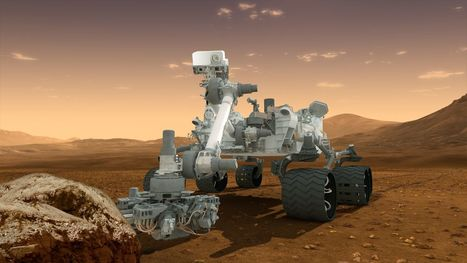 Soon, space robots like Curiosity may evolve even greater intelligence | Robots and Robotics | Scoop.it