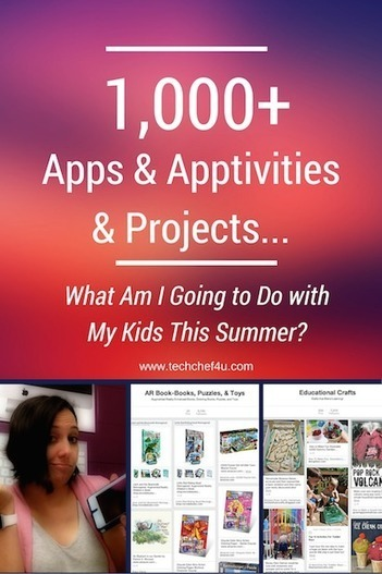 WHAT AM I GOING TO DO WITH MY KIDS THIS SUMMER? | iPad Recommended Educational App Lists | Scoop.it