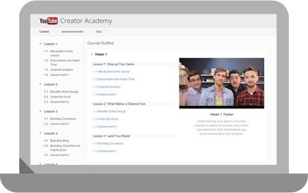 Free Online Courses | Maximize Your Channel | YouTube Creator Academy | Duct Tape Media | Scoop.it