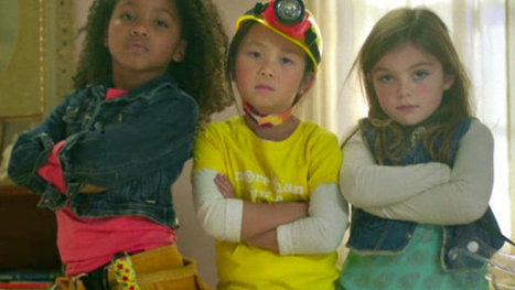 Ad Takes Off Online: Less Doll, More Awl | Education Matters | Scoop.it