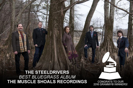THE STEELDRIVERS' THE MUSCLE SHOALS RECORDINGS EARNS A GRAMMY WIN FOR BEST BLUEGRASS ALBUM | The SteelDrivers | | Acoustic Guitars and Bluegrass | Scoop.it