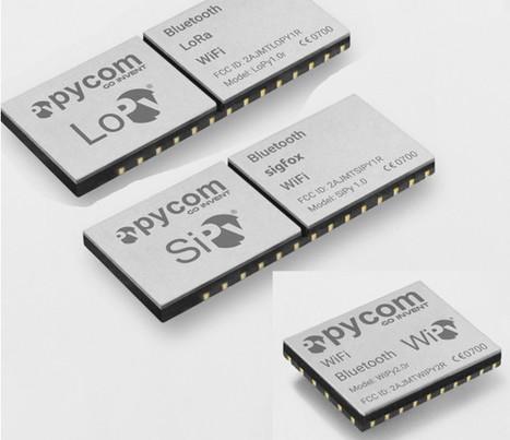 Pycom To Sell WiFi, BLE, LoRa and Sigfox OEM Mo