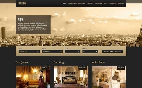 Hotel themes\' in Free & Premium WordPress Themes | Scoop.it