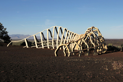 Lava tube inspires sculpture | Conformable Contacts | Scoop.it