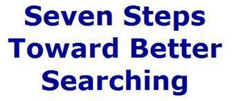 Seven Steps Toward Better Searching | Bibliotecas Escolares do S. XXI | Scoop.it
