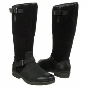 Shop Ugg Australia Thomsen Round Toe Leather Knee High Boot