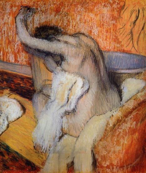 La serie bañista de Edgar Degas. | Rebollarte | Scoop.it