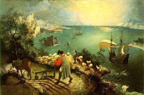 #002 ❘ La Chute d'Icare ❘ Bruegel l'Ancien ❘ vers 1558 | # HISTOIRE DES ARTS - UN JOUR, UNE OEUVRE - 2013 | Scoop.it