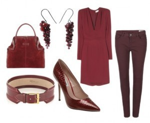6d89a9fe0b445 How to Wear Oxblood: Fashion's Hottest Fall Color | Bridgette Raes Style  Expert