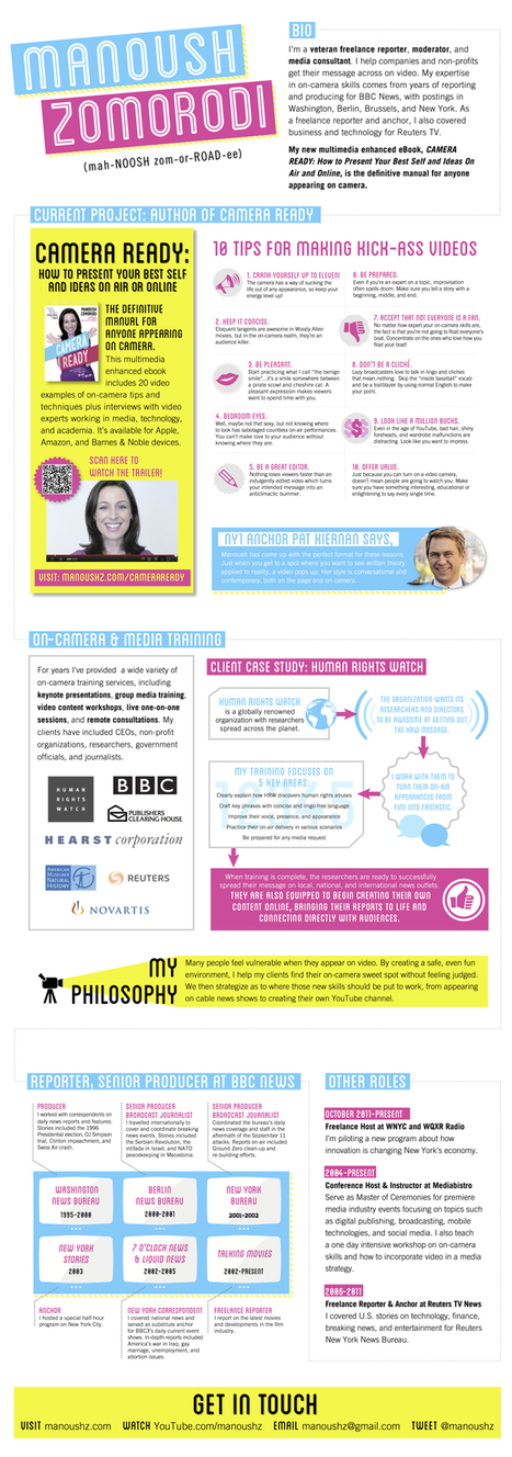 INFOGRAPHIC: The Camera Ready Journalist | Radio 2.0 (En & Fr) | Scoop.it