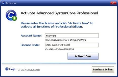 advanced systemcare 12.3.0 key