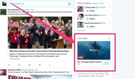 Twitter enables live broadcasting | screen seriality | Scoop.it
