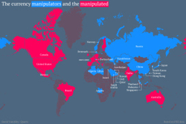 The new global dividing line: Is your economy a manipulator, or manipulated? | S'emplir du monde... | Scoop.it
