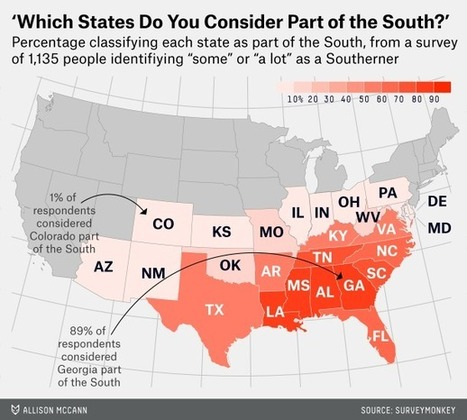 Defining 'the South' | AP Human Geography Education | Scoop.it