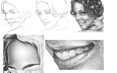 how to draw a face in drawing and painting tutorials