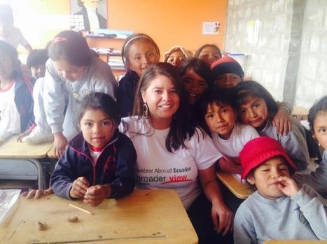 "Review Karen Sanchez Volunteer in Ecuador Quito at the teaching/community center program | ""#Volunteer Abroad Information: Volunteering, Airlines, Countries, Pictures, Cultures"" 