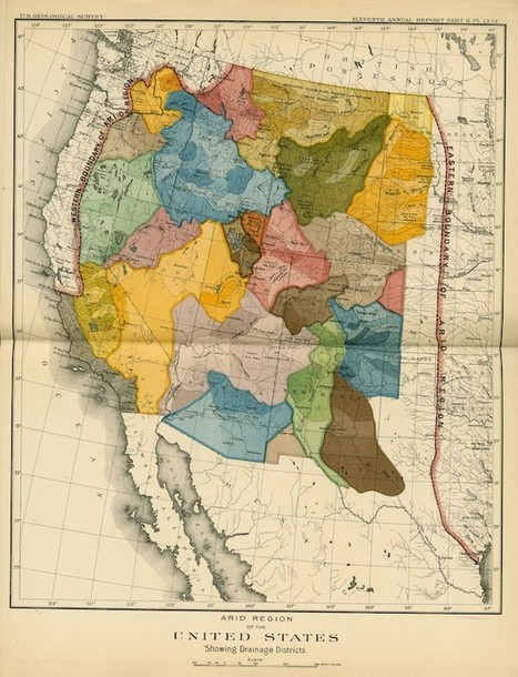 This 19th Century Map Could Have Transformed the West | NGOs in Human Rights, Peace and Development | Scoop.it