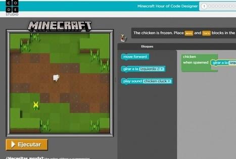Ya podemos aprender a programar con un nuevo Minecraft en Code.org | Tecnologia, Robotica y algo mas | Scoop.it