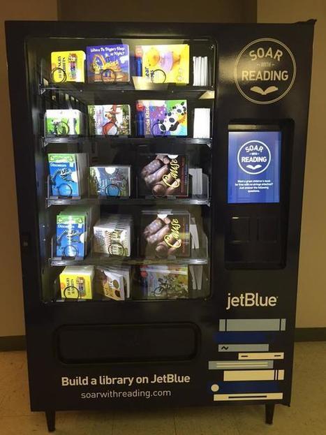États-Unis : des distributeurs de livres gratuits pour les enfants défavorisés | La bibliothèque du Chesnay | Scoop.it