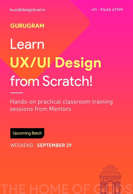 Designboat Ui Ux School In Pune In Ui Ux Design School Ui Ux Design Courses Learn Mobile Ui And Ux Design Courses Designboatschool In