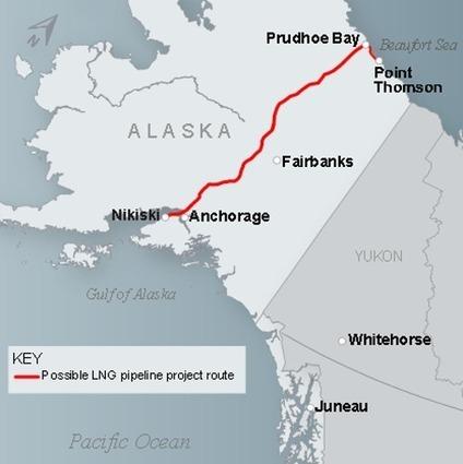 Власти Аляски работают над проектом Alaska LNG