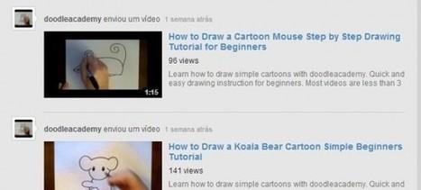 Doodleacademy, un canal de vídeos para aprender a dibujar.-   Online Learning: More Than Just a MOOC #SPANISH   Scoop.it