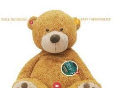 Health-tracking teddy bear lets parents monitor baby's every move and cry   Radio Show Contents   Scoop.it