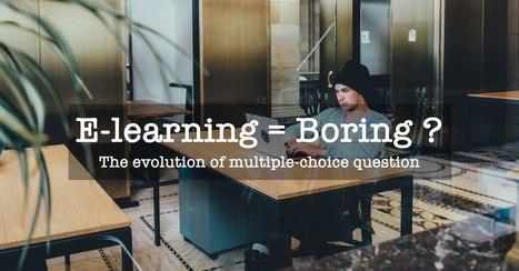 L'évolution des questions à choix multiples dans l'e-learning | Pédagogie & Technologie | Scoop.it