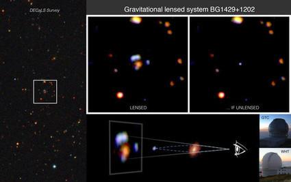 Descubren una de las galaxias lejanas más brillantes conocidas hasta la fecha | Universo y Física Cuántica | Scoop.it
