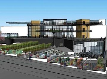 Proposed Multilevel Elevated Urban Farm in Atlanta — City Farmer ... | Vertical Farm - Food Factory | Scoop.it